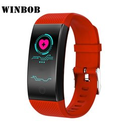 Discount bracelet health wristband - Smart Wristband Intelligent Sport Bracelet Fitness Sleep Tracker IP68 Pulse Watch Outdoor Smartband Health Band Relogio