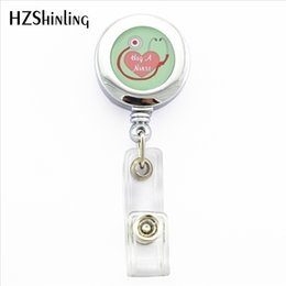 Wholesale NBH New Student Nurse Retractable Badge Holder Student Nurse ID Card Holder Nurse Photo Lanyard ID Card Badge Holder