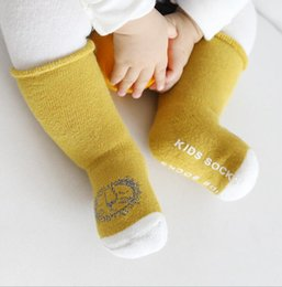 $enCountryForm.capitalKeyWord Australia - baby warm Non-slip socks infant terry-loop hosiery cotton children tube socks stocking winter skidproof socks for boys girls