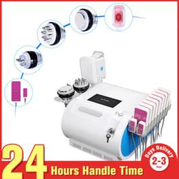 $enCountryForm.capitalKeyWord Canada - Fat Freezing Machine Waist Slimming Cavitation Rf Machine Fat Reduction Lipo Laser Freezing Heads 5 In 1