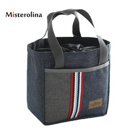 Wholesale Kids Lunch Bags Canada - Misterolina Lunchtas Insulated Lunch Bag  Lunch Bag for Women Kids 17637b329c353