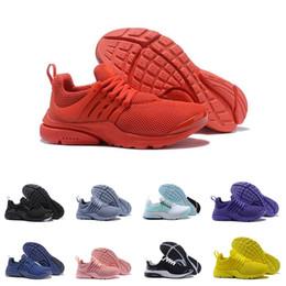 best sneakers dc6fc 026b5 Nike Presto Offre spéciale Presto Ultra Olympic BR QS Femmes Hommes  Chaussures de course Tripel Noir Blanc Jaune Rouge Mode Casual formateur  Chaussures de ...