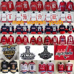 Discount 43 tom wilson - 2018 Stanley Cup Finals Hockey Washington Capitals  8 Alex Ovechkin 43 885c1f61c