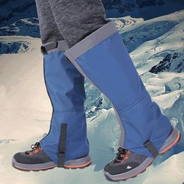 $enCountryForm.capitalKeyWord Canada - Snowboard Tool Legs Gaiters Fabric Waterproof For Camping Foot Protection Breathable Outdoor Tools Traveling Shoe