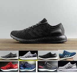 ed444998a17e8 2017 fashion Ultra Pure Boost sneaker ub 3.0 pb shadow knit 350 racer  Women s MEN S Running pureboost Sport Shoes Size US5-US11