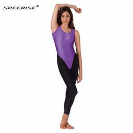 e263241605 Black Sleeveless Leotard NZ - Women Ballet Leotard Costumes Sleeveless  Solid Tank Thong Dance Wear Leotard