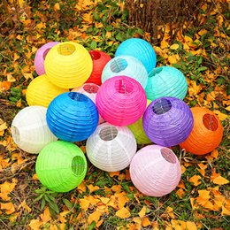 $enCountryForm.capitalKeyWord Australia - Colored Round Chinese Paper Lantern Hanging Decorations Ball Lanterns Lamps for Home Decor, Birthday Parties, Christmas and Weddings