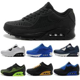 best cheap 4ce54 58654 Air Max Airmax 90 KPU Hommes Sneakers Chaussures classique 90 Hommes  Chaussures de Course Noir Rouge Blanc Sport Entraîneur Coussin Surface  Respirant Sport ...