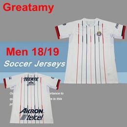 bc8e134ea New Arrived 2019 MEXICO Club Classic Chivas de Guadalajara Home Soccer  Jersey 18 19 Authentic Champion Camiseta de Futbol Football Shirts