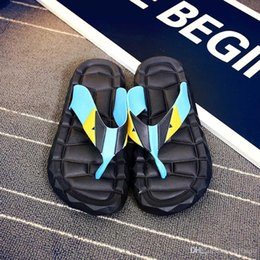 Massage Sandal Flip Flop Canada - good quality Flip Flops Men Sandals Shoes For Casual Walking Beach Slides EVA Massage Slippers Designer Flats Male Summer Mens Shoes