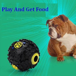 Strange Ball NZ - 2018 Hot Sale Pet Puppy Strange Sound Ball Leakage Food Ball Dog Interactive Toys Tooth Cleaning Toys
