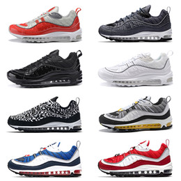 Discount sneaker shoes uk - 98 98s Running Shoes QS Cone Gundam South Beach UK GMT Tour Yellow Triple Black White Gym Red Blue Sport Sneakers