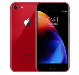 100% nouveau téléphone portable Apple iPhone 8 8, plus 4.7 reconditionné, 5,7 5,5 pouces ROM 256 Go ROM 2 Go de RAM hexa Core 12MP LTE téléphone mobile sans Touch ID en Solde