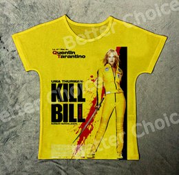 $enCountryForm.capitalKeyWord Canada - Track Ship+Vintage Retro T-shirt Top Tee Best Quentin Tarantino Kill Bill Uma Thurman Revenge Bride 1138