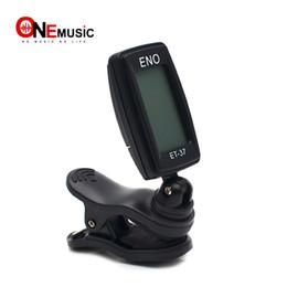 $enCountryForm.capitalKeyWord Australia - ENO ET-37 LCD Mini Clip-on Electronic Guitar Chromatic Bass Violin Ukulel Tuner Wind Instrument Universal MU0434