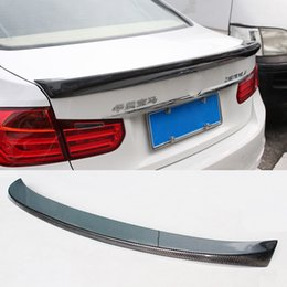 $enCountryForm.capitalKeyWord Australia - Car Styling Carbon Fiber Glossy Car Rear Spoiler Trunk Wings Lip For BMW 3 Series F30 Spoiler 320i 330i 335i Sedan 2012-2017