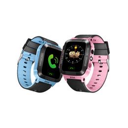 Children braCelet lost online shopping - Y21 Smart Watch Kids GPS Anti Lost Child Tracker Watch Android Smart Bracelet For Children Baby Sim Card