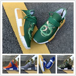 quality design cc20d a3999 Großhandelsqualitäts 2018 NMD menschliches RENNEN Pharrell Williams Hu Spur  NERD Männer Womens Laufen Schuhe NMD XR1 Sportschuhe Größe 36-46