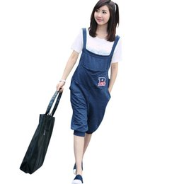 255f6dd1e88 Summer Pregnant Overalls Maternity Jumpsuits Rompers Clothing Pregnancy  Women Causal Suspender Capris Pants Plus Size Clothes