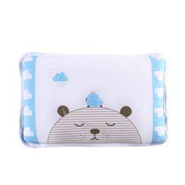 toddler sleep pillow 2019 - Summer Baby U Shaped Detachable Pillow Newborn Bedding Infant Toddler Sleep Positioner Anti Rollover Prevent Flat Head W