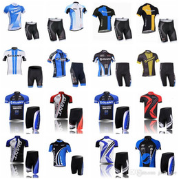 Discount giant bicycle team jersey - GIANT team Cycling Short Sleeves jersey shorts sets High-Quality Cycling jersey Breathable Bicycle Clothing Sportwear D1