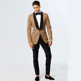 Pantalones Marrón Online Marrones Chaqueta Negra Z5Sw88