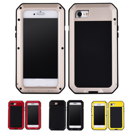 SamSung S6 waterproof online shopping - For Samsung Galaxy S5 S6 S7 edge Note Shockproof Waterproof Power Aluminum Gorilla Glass Protect Phone Cover