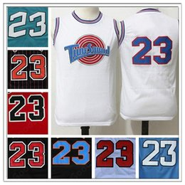 hot stitched swingman sw mj tune squad 23 jersey cheap all star hot gift jerseys sport basketball christmas day new