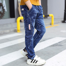 e3c68dec0cfd boys jeans pants 2018 Spring high quality fashion children jeans for boys  clothing skinny denim pants zipper children trousers