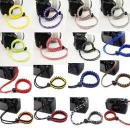 $enCountryForm.capitalKeyWord NZ - Camera Woven Rope Grip Rapid Wrist Strap Camera Non-slip Belt Wrist Hand Strap camera Bracelet Outdoor Rope Sport Accessories GGA959