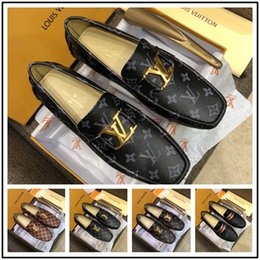 $enCountryForm.capitalKeyWord Canada - 2019 brand Formal Dress Shoes For Gentle Men Black Genuine Leather Shoes Little bee Toe Men's Business Oxfords Casual Shoes