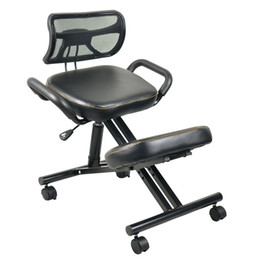 $enCountryForm.capitalKeyWord Canada - Ergonomically Designed Knee Chair Leather Office Kneeling Chair Ergonomic Posture Chair - Ideal For Neck, Spine, Back Problems