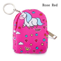$enCountryForm.capitalKeyWord NZ - 1PC Children's Kawaii Unicorn Coin Purses Key Card Holder Women Small Mini Pocket Ring Casual Earphone Storage Bag Change Wallet