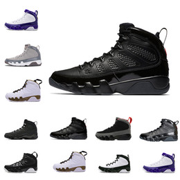 best loved c7afb f1a20 2018 Cheap New 9 9s Oreo mens basketball shoes space Jam The Spirit Tour  blue Cool Grey sports Sneakers Sport Outdoor designer Shoes US 8-13