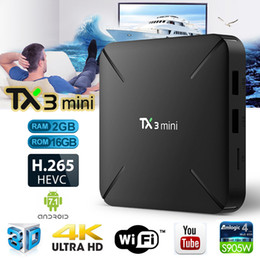 Mini processors online shopping - 2019 new TX3 Mini Android TV Box GB RAM GB ROM WiFi Amlogic S905W Quad Core A53 Processor Bits Android tv devices for television