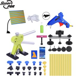 Bridge machine online shopping - Super PDR Tools Kit Auto Dent Pullers Suction Cup Paintless Dent Removal Tool Set Dent Pulling Bridge Glue Tabs For Hot Glue Gun