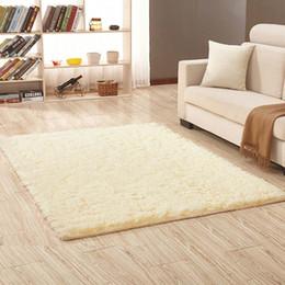 Portable Bedside Table Australia - Modern silk carpets living room rectangular coffee table sofa bedside carpet floor mats carpet blanket
