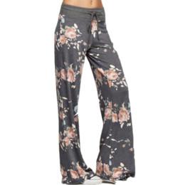 $enCountryForm.capitalKeyWord UK - PENERAN Plus Size Loose Women Yoga Dance Workout Pants Drawstring Floral Print Fitness Sport Trousers Female Gym Sports Clothes