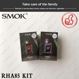 Discount smok alien kits - 100% Genuine SMOK RHA85 Kit AL85 Kit With 3ML TFV8 Baby Beast Tank RHA85W Mod OLED Display Screen Alien Baby Kit Adjusta