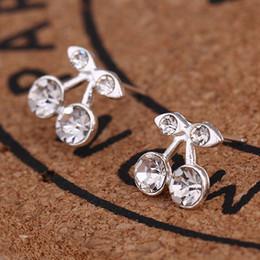 $enCountryForm.capitalKeyWord NZ - kshmir Sweet fruit fresh cherry stud earrings eardrop female fashion new youth beautiful girl students earrings