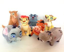 New The Lion Guard Kion Fuli Nala Bunga Beshte Pumbaa Mtoto Plush 17CM Kids  Stuffed Animals Toys For Children Christmas Gifts bf4cfd531ff0