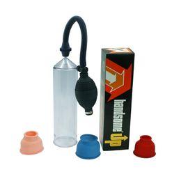 Dispositivo de agrandamiento del pene masculino bombas de ampliación del pene extensor del pene Massager sin vibrador bomba productos adultos juguetes sexuales para hombres en venta