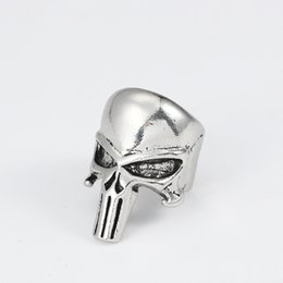 fe71c5cfdb27f Black metal clothing online shopping - Men Skull Ring Woman Punk Unqiue  Jewelry Cool Stainless Steel