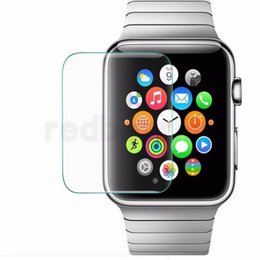 watch guard NZ - Tempered Glass for apple watch 9H Proof Premium Protective Film Guard Smart Sport Watch Screen Protector 38MM 42mm for Apple Watch