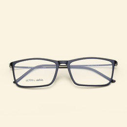 d23421fa30b 2018 Square Eyewear Clear Lens Unisex Retro Glasses Frame Vintage ULTEM Eye Glasses  Frame For Women Men s Goggles Oculos De Grau