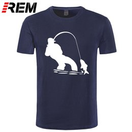 REM Authentic Tees Short-Sleeved Cloth Design Swag  Fishinger Fisherman Men Ali Shirt Online Nice T Shirts For Men