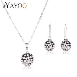 wedding costume jewelry dubai UK - AYAYOO Wedding Fashion African Beads Jewelry Set Bridal Women Dubai Jewelry Sets For Indian Vintage Costume