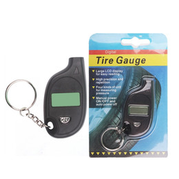 keychain chevrolet Canada - CKS EK2 Mini Keychain Portable Digital LCD 2-150 PSI Tire Wheel Air Pressure Gauge Tester Procession Tool Tire Pressure