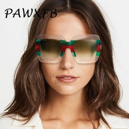 celebrities sunglasses 2019 - Pop Age Luxury Italy Brand Oversized Square Sunglasses Women Retro Brand Designer Sun Glasses Female Famous Celebrity Ey