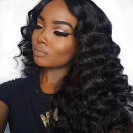 $enCountryForm.capitalKeyWord Australia - Best quality peruvian glueless silk top full lace wig 100% human hair body wave silk base lace wigs with natural baby hair